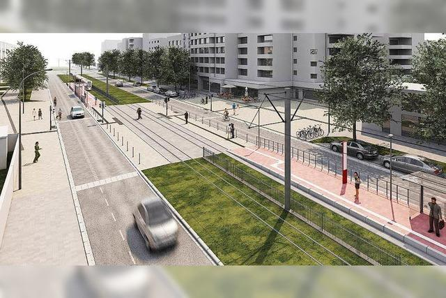 Der Umbau der Sundgauallee beginnt Anfang April