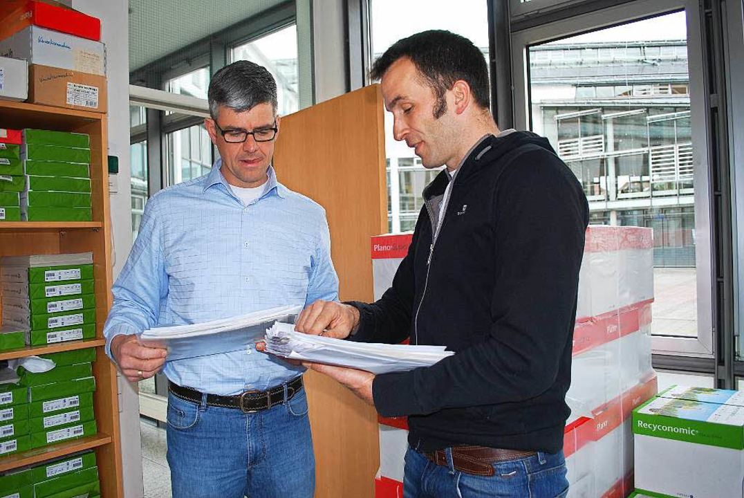 Martin Offenhäusser und Francis Desiga...ibt's alle Listen auch nochmals)  | Foto: Sylvia-Karina Jahn