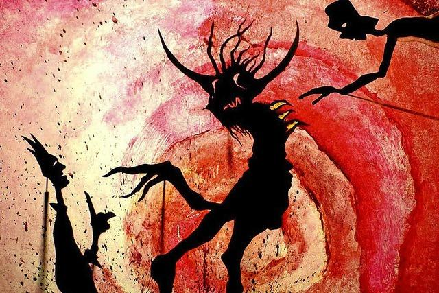Der Teufel mit den 3 goldenen Haaren im Schlosskeller Tiengen