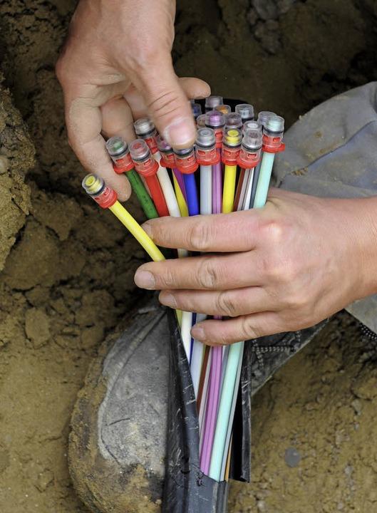 Für die Breitbandversorgung steigen die Zuschüsse.   | Foto: dpa