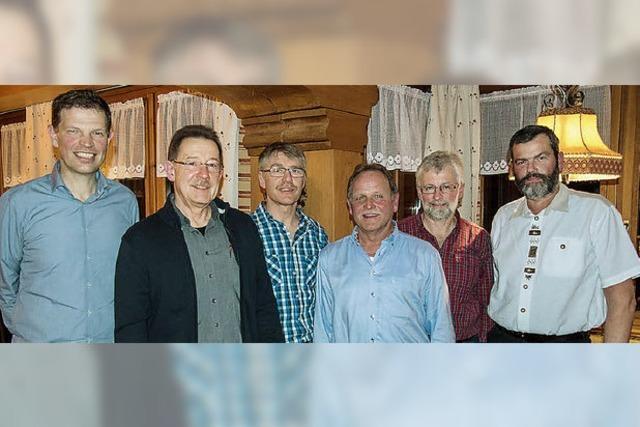 Mit 24 Sängern steht der Männerchor noch gut da