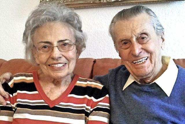 Seit 60 Jahren einander in Liebe verbunden