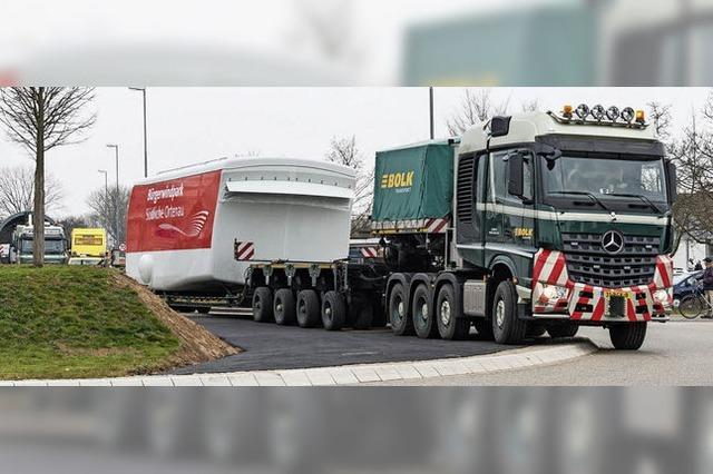 Millimeterarbeit mit 80 Tonnen Last