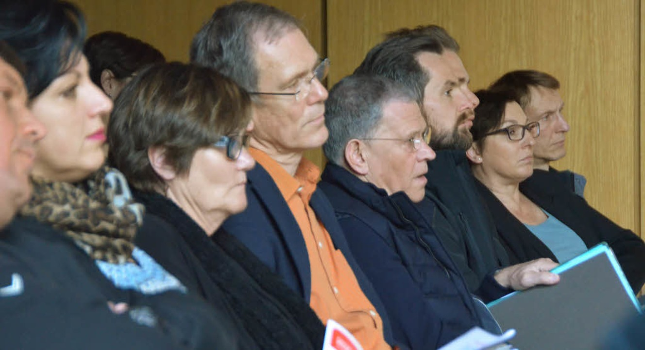 Groß war das Interesse von Arbeitgeber...Informationsveranstaltung im Rathaus.     Foto: Jochen Fillisch