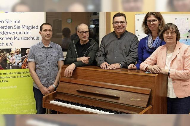 Der Musikschule eine Stütze
