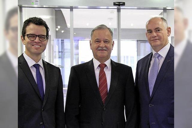 Volksbank verabschiedet Personalleiter Albert Ott