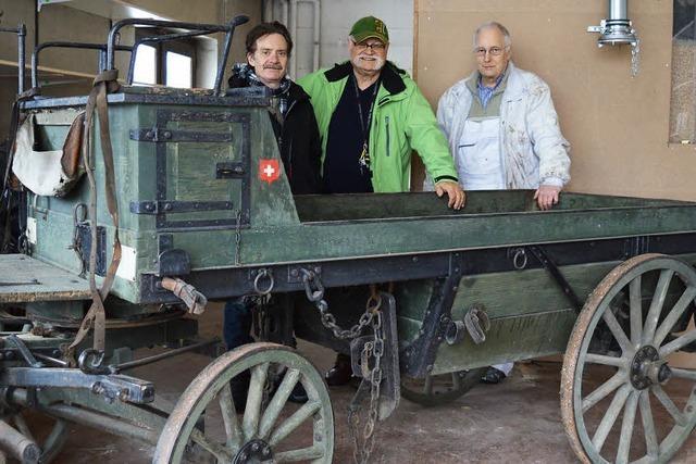 Kanonenwagen für den Klausenhof