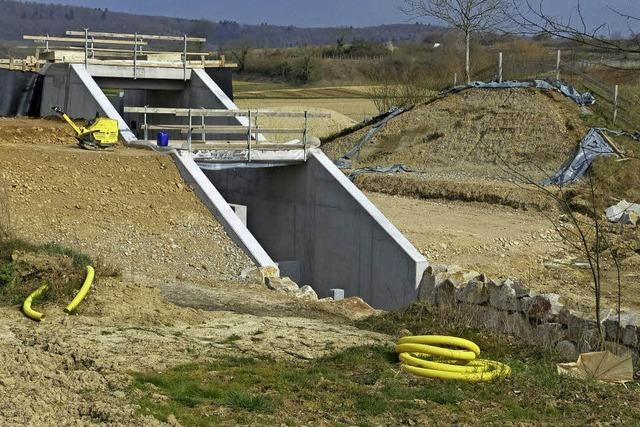 Sorgen um Köndringens Hochwasserschutz