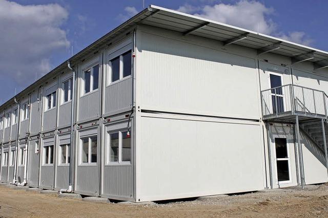 Container in Riegel und Malterdingen im Bau