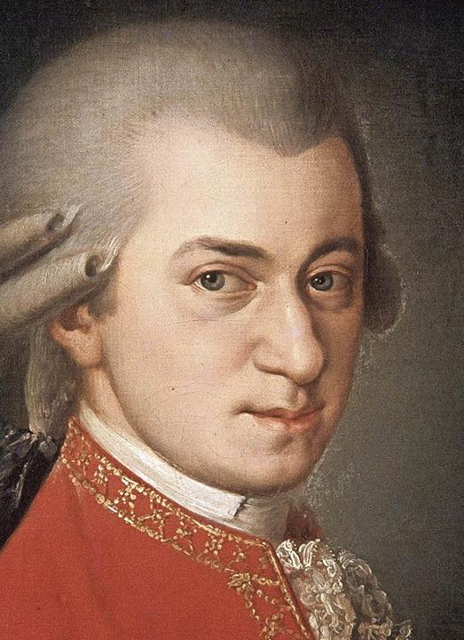 Wolfgang Amadeus Mozart   | Foto: dpa
