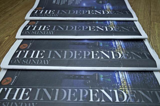 The Independent: London und die verschwundene Zeitung