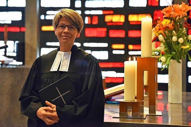 Gabriele Hartlieb leitet ab Mai Gottesdienste in der Freiburger Kreuzkirche