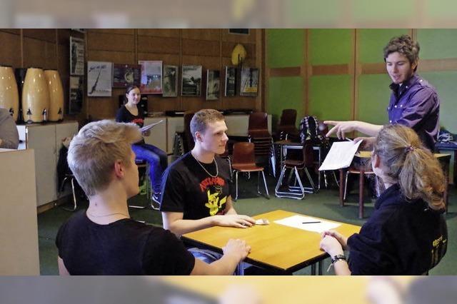 Musikschüler des GHSE lassen Route 66 mit Musical aufleben