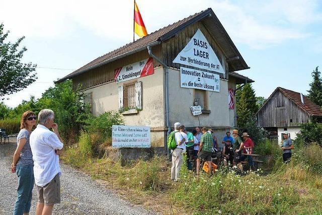 Besetztes Bahnwärterhaus: Bahn erteilt Protestbündnis Hausverbot