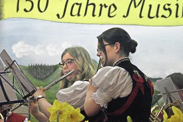 Musikverein Albtal mit einem gelungenen Mix aus Alt und Neu