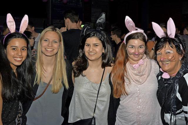 Über 1000 feiern bei der Bunny-Party