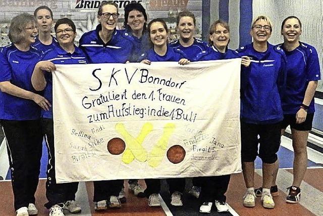 SKV Bonndorf steigt in die erste Liga auf