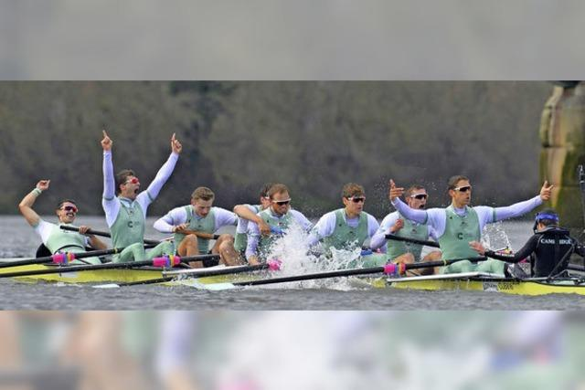 Heidelberger hilft Cambridge beim Boat Race auf der Themse siegen