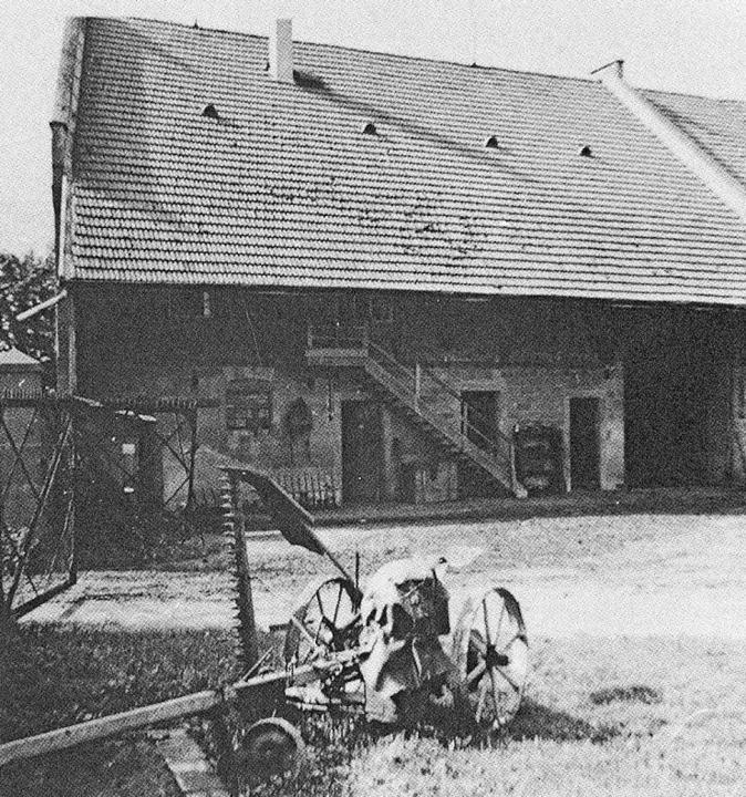 """Das Foto vom Hursterhof stammt aus dem... von Langenwinkel 1797 - 1997"""".     Foto: Repros: Privat"""