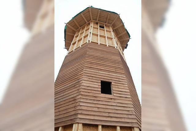 Zum 1000. Geburtstag gibt es einen Leuchtturm aus Holz