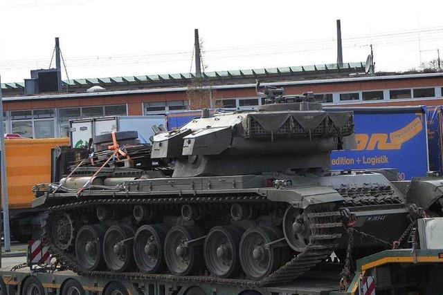 Dem Panzer fehlt die Durchfahrtgenehmigung