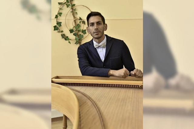 Joel da Silva ist Musiktherapeut, Sänger, Komponist und Chorleiter