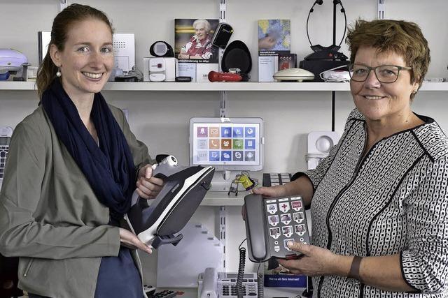 Das Seniorenbüro Freiburg informiert über Alltagshilfe im Alter