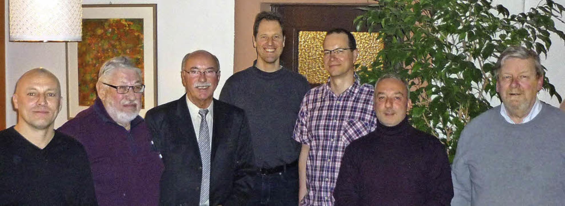 Der Vorstand der Kleinkaliberschützen ...David DeBenedictis und Eberhard Wildt   | Foto: Privat