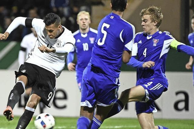 Deutsche U 21 verabschiedet Hrubesch mit 2:0-Sieg in Russland