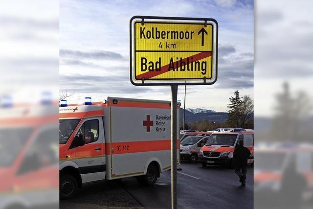 Zwei Fehler vor dem Zugunglück von Bad Aibling