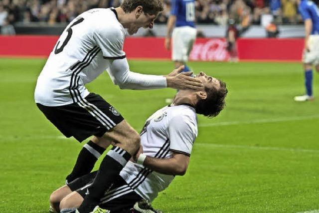 Deutschland gegen Italien im Torrausch: 4:1-Sieg in München