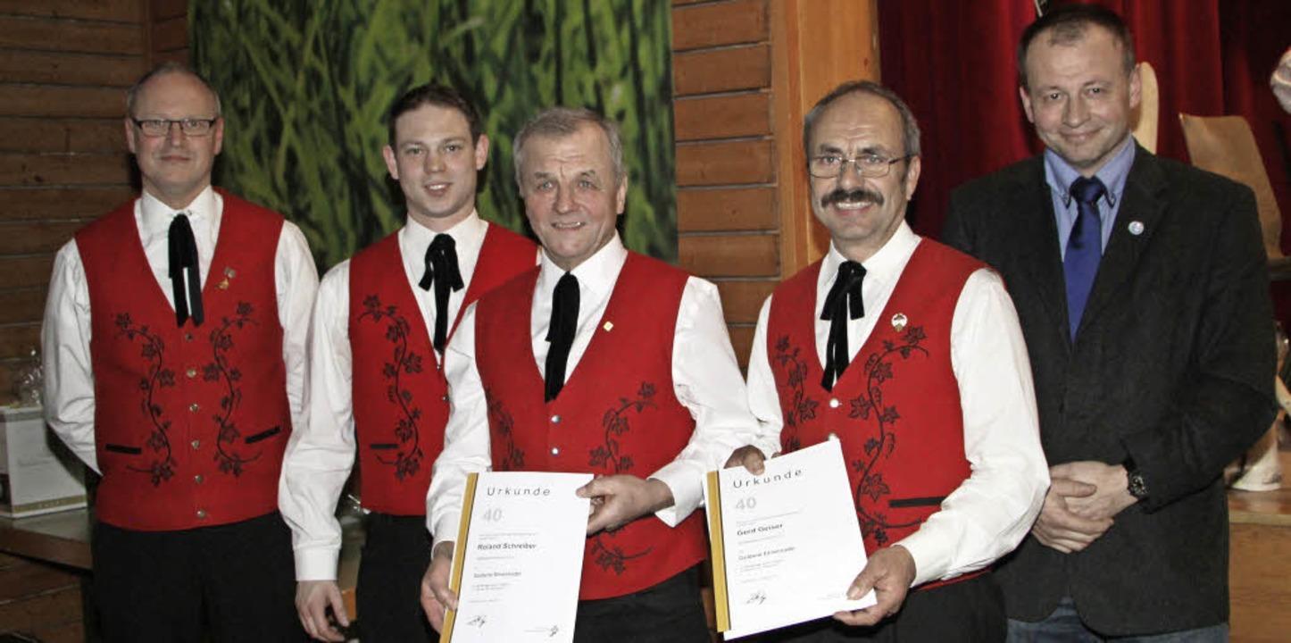 Der Präsident des Blasmusikverbandes K...s  Bunds Deutscher Blasmusikverbände.   | Foto: Herbert trogus