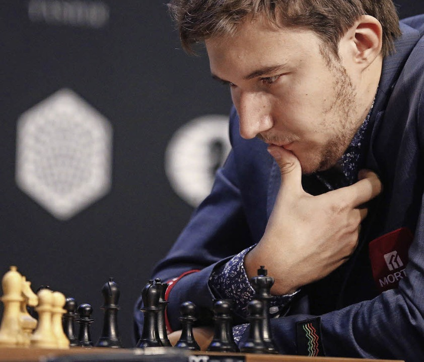 Der Herausforderer: Sergey Karjakin   | Foto: dpa