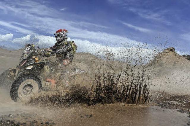 Fahrer aus Weil am Rhein ist Kult bei der Rallye Dakar