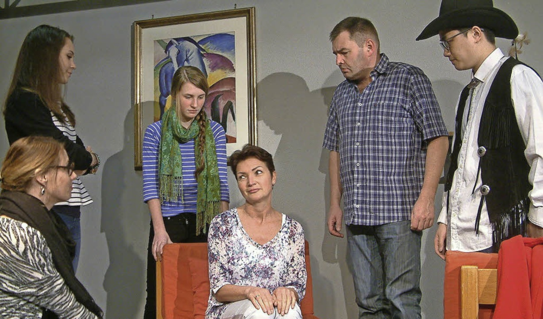 "Stress im Hotel Mama: Die Festspielgem..."", die am 8. April Premiere hat.  | Foto: Roswitha Frey"