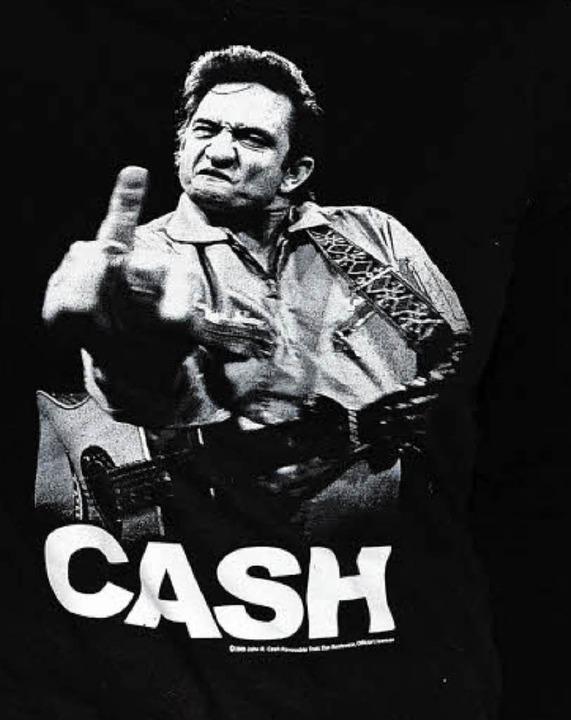 Ikone der Protestkultur: Johnny Cashs Finger von 1969  | Foto: Joe Corrigan
