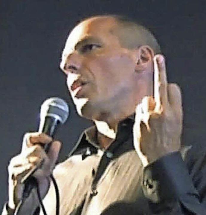 Für Politiker ist die Geste immer noch...oufakis verlor ihretwegen  seinen Job.  | Foto: Allessandro del Prete