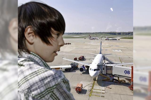 Der erste Alleinflug