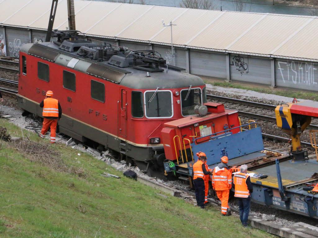 Güterzug Entgleist