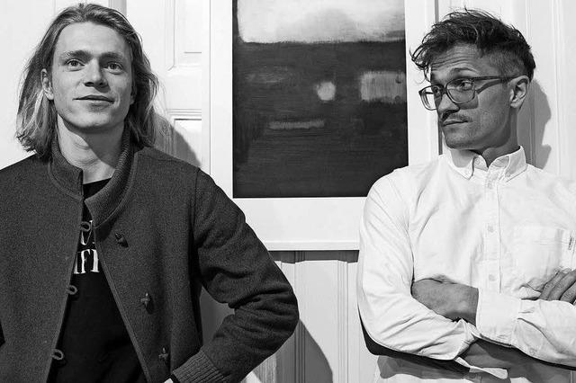 Die Künstler Thomas, Tilman und Nathan Egel stellen in Müllheim aus
