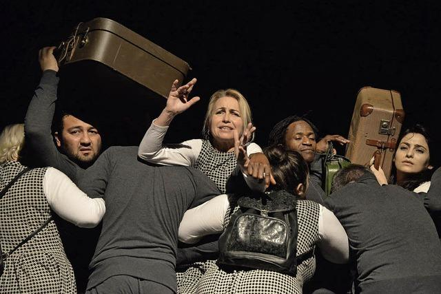 Integratives Theaterprojekt mit Flüchtlingen im Salmen