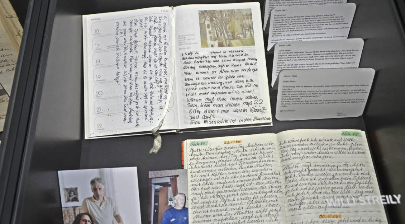 Mehr als 16000 Tagebücher lagern im Emmendinger Archiv.  | Foto: Walser