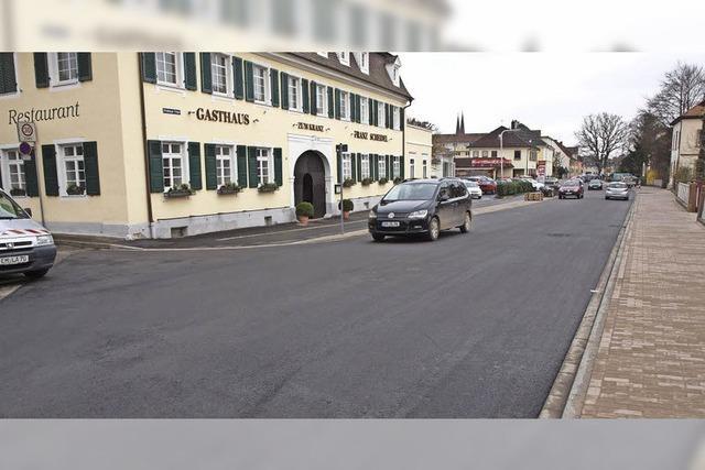 Freie Fahrt in der Offenburger Straße