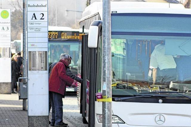 Uneinigkeit über Stadtbuskonzept
