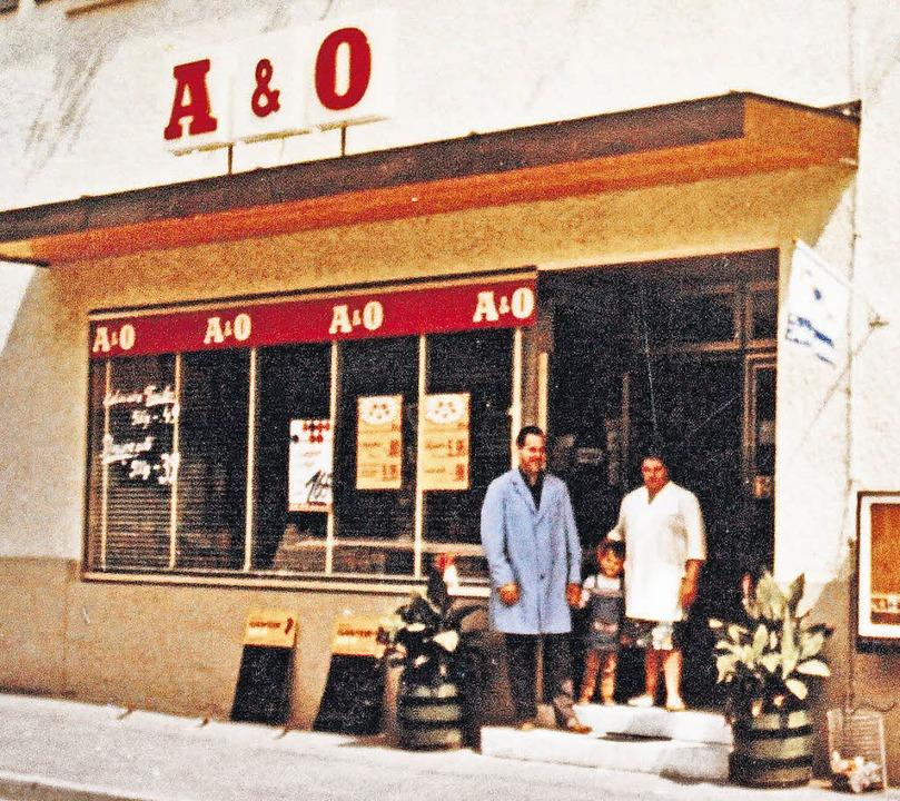 Ein Bild aus besseren Tagen: In den 19...etzt nach  fast 60 Jahren geschlossen.    Foto: privat