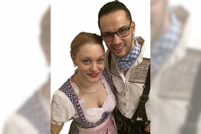 Tanja Dünki und Christian Dietsche singen in der Festhalle
