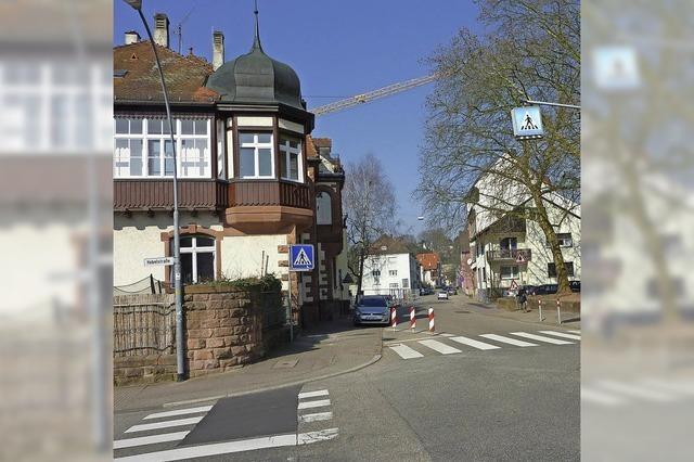 Bauarbeiten in der Stefanienstraße
