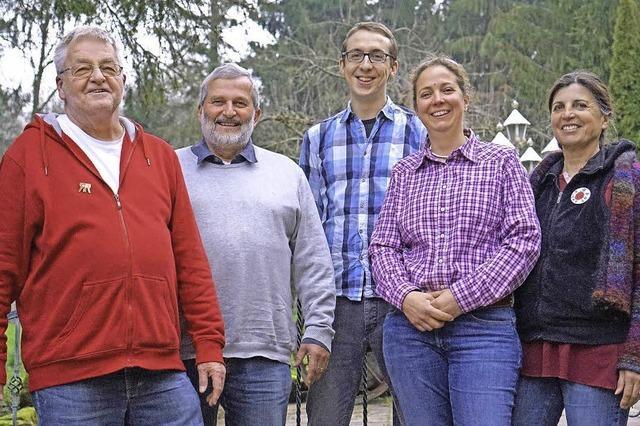 Ein Team mit fünf Sprechern