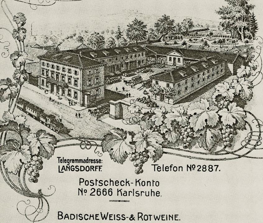 Langsdorff Briefkopf  | Foto: Siebold