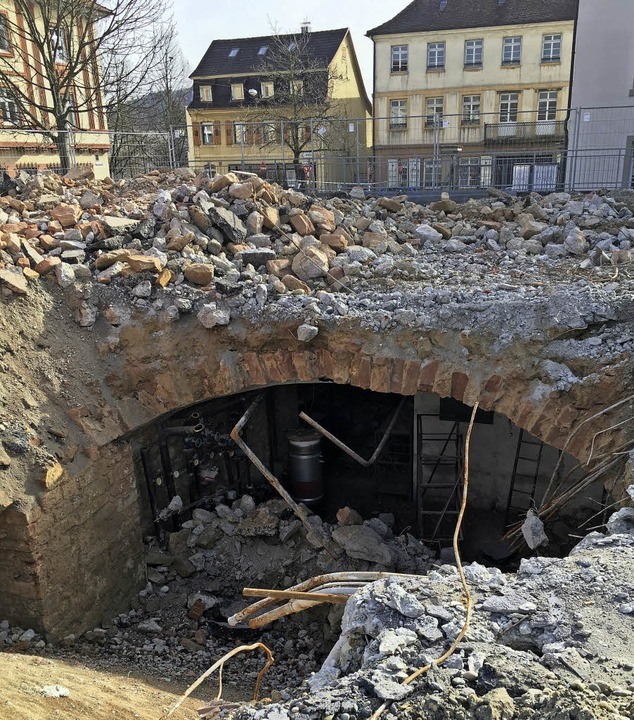 Langsdorff Gewölbe  | Foto: bz